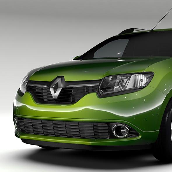 Renault Logan VAN 2016 - 3DOcean Item for Sale