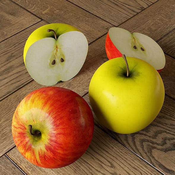 Apples - 3DOcean Item for Sale