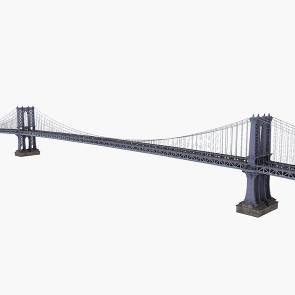 Manhattan Bridge New york - 3DOcean Item for Sale