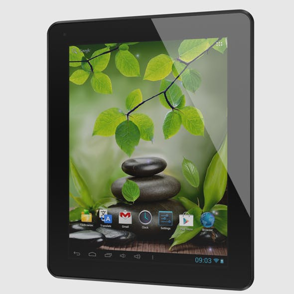 Android Tablet - 3DOcean Item for Sale