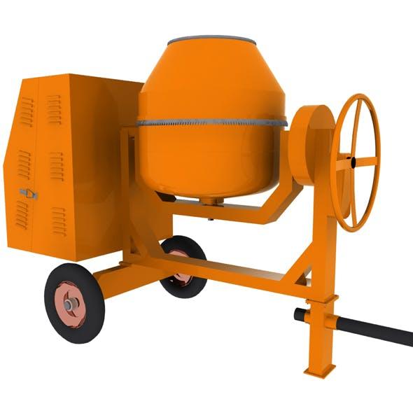 Concrete Mixer Machine - 3DOcean Item for Sale