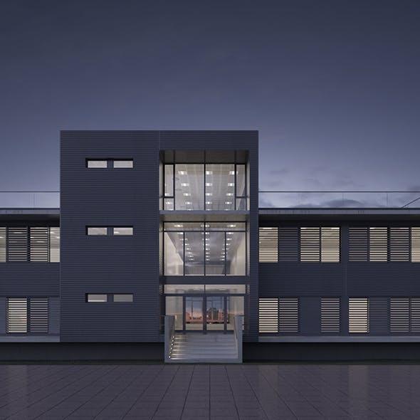 Office building - Science N Business Park headquarters - 3DOcean Item for Sale