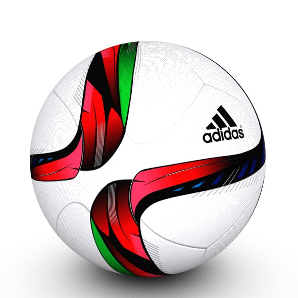 Adidas Conext15 Soccer Ball Red