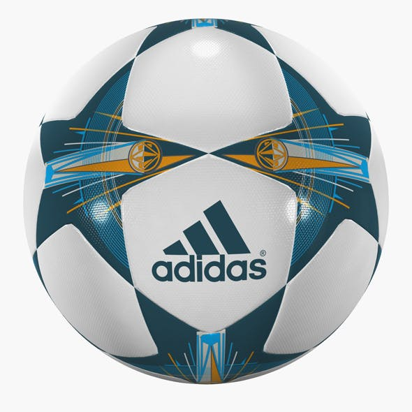 champions league soccer ball 01 by polygon3d 3docean usd