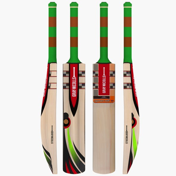 Gray Nicolls Cricket Bat - 3DOcean Item for Sale