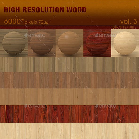 High Resolution Wood Textures Vol. 3