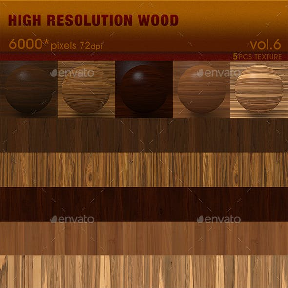 High Resolution Wood Textures Vol. 6