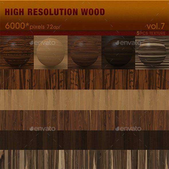 High Resolution Wood Textures Vol. 7