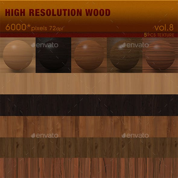 High Resolution Wood Textures Vol. 8