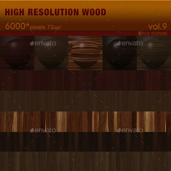 High Resolution Wood Textures Vol. 9
