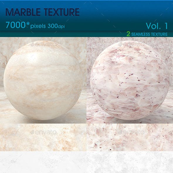 High Resolution Marble Texture Vol. 1 (2 PCS)
