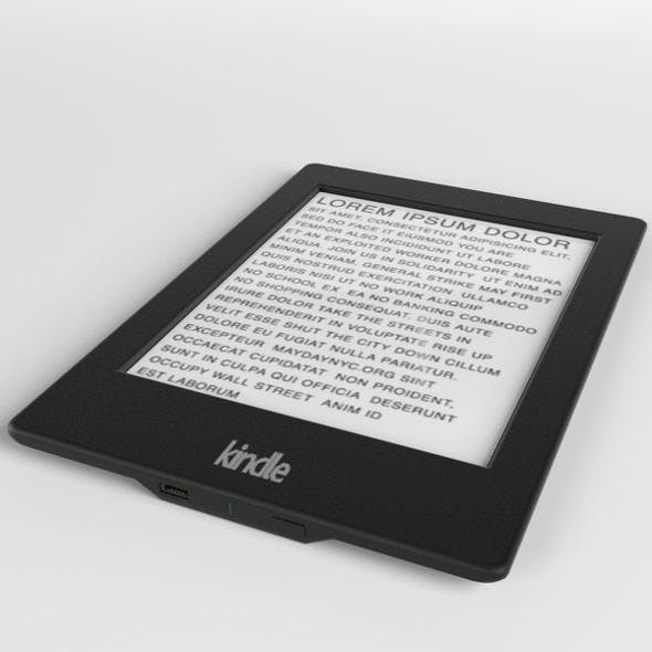 Amazon Kindle Paperwhite ebook reader