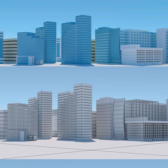 Random City Building