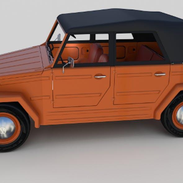 VW Type 181 w interior top up