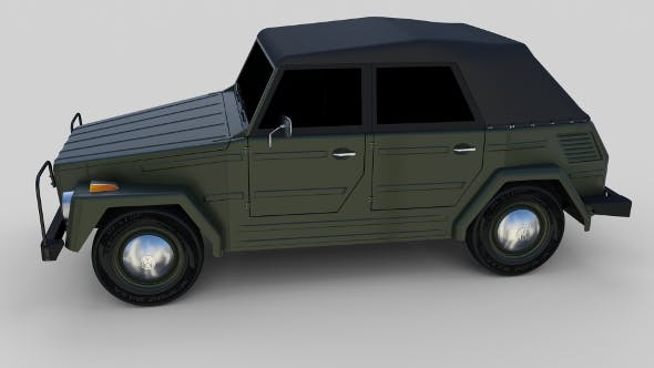 VW Type 181 - 3DOcean Item for Sale