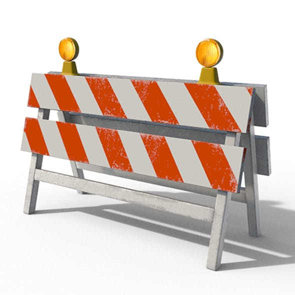 Construction Barrier 02