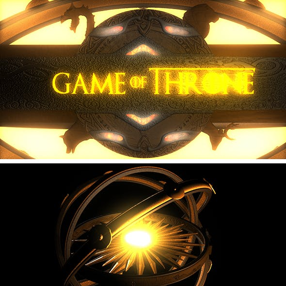 Game of Throne Logo & Astrolabe