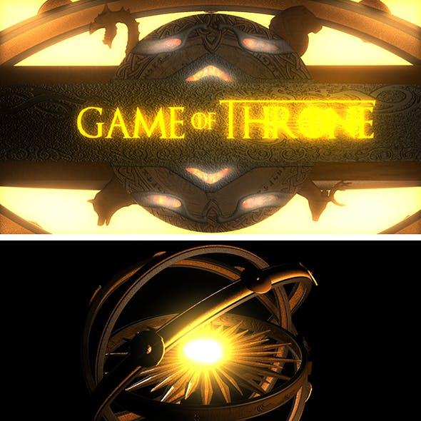 Game of Throne Logo & Astrolabe