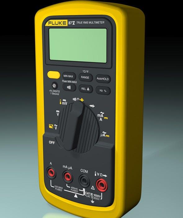 FLUKE 87V True RMS Multimeter - 3DOcean Item for Sale