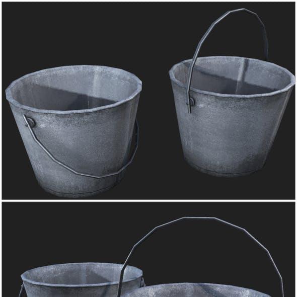 Metal Bucket 01