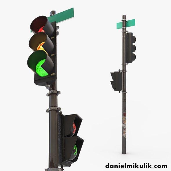 Traffic Light PBR Textures