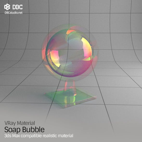 3ds Max V-Ray (Ver 3.4) Soap Bubble Material