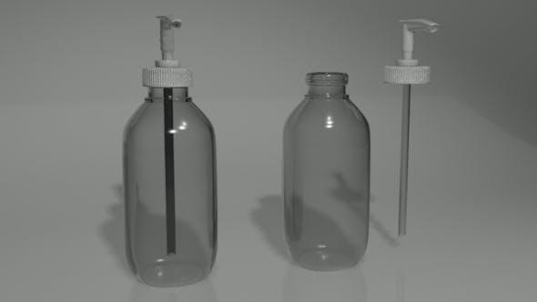 Pump Bottle - 3DOcean Item for Sale