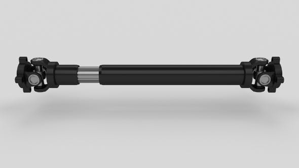 Animated Drive Shaft - 3DOcean Item for Sale