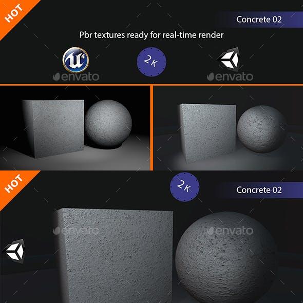 PBR Concrete 02 Texture