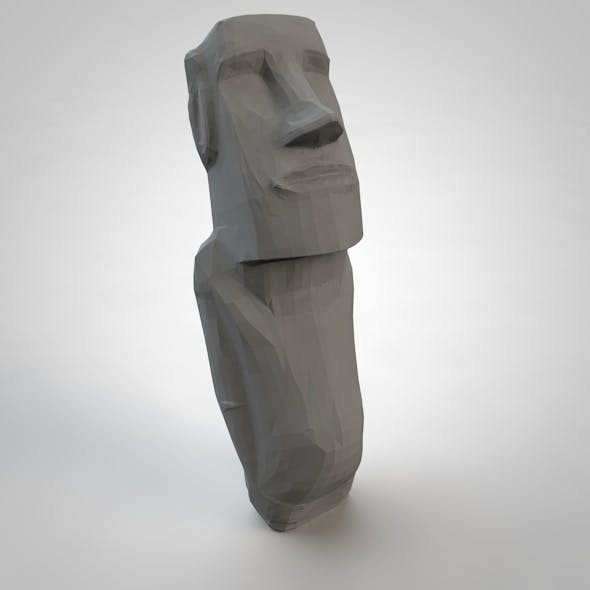 Easter Island Statue - 3DOcean Item for Sale