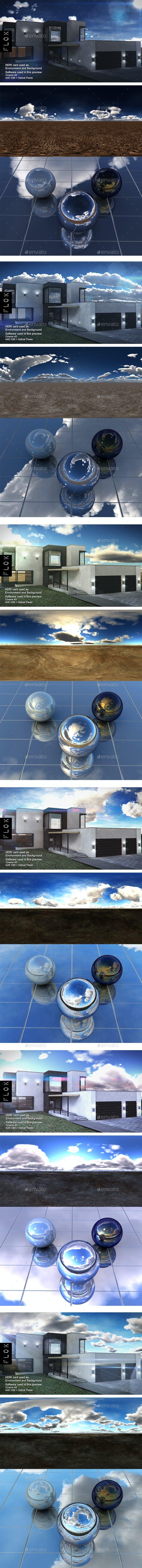 HDRI Pack - Desert vol 18 - 3DOcean Item for Sale