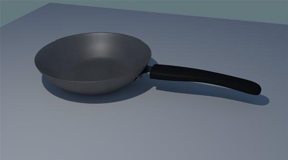 Frying Pan - 3DOcean Item for Sale