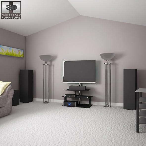 Home theatre set 3