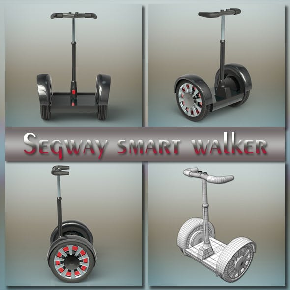 Segway smart walker - 3DOcean Item for Sale