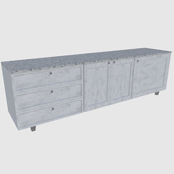 Cabinet 2 - Game Ready - 3DOcean Item for Sale