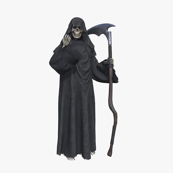 Grim Reaper Death Rigged - 3DOcean Item for Sale