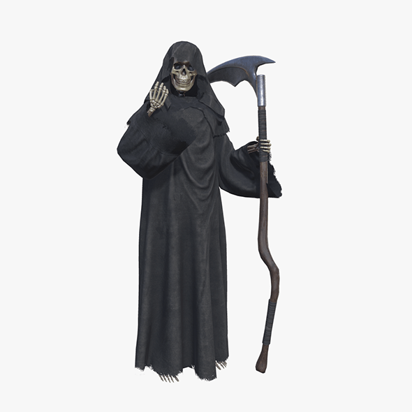 Grim Reaper Death Rigged