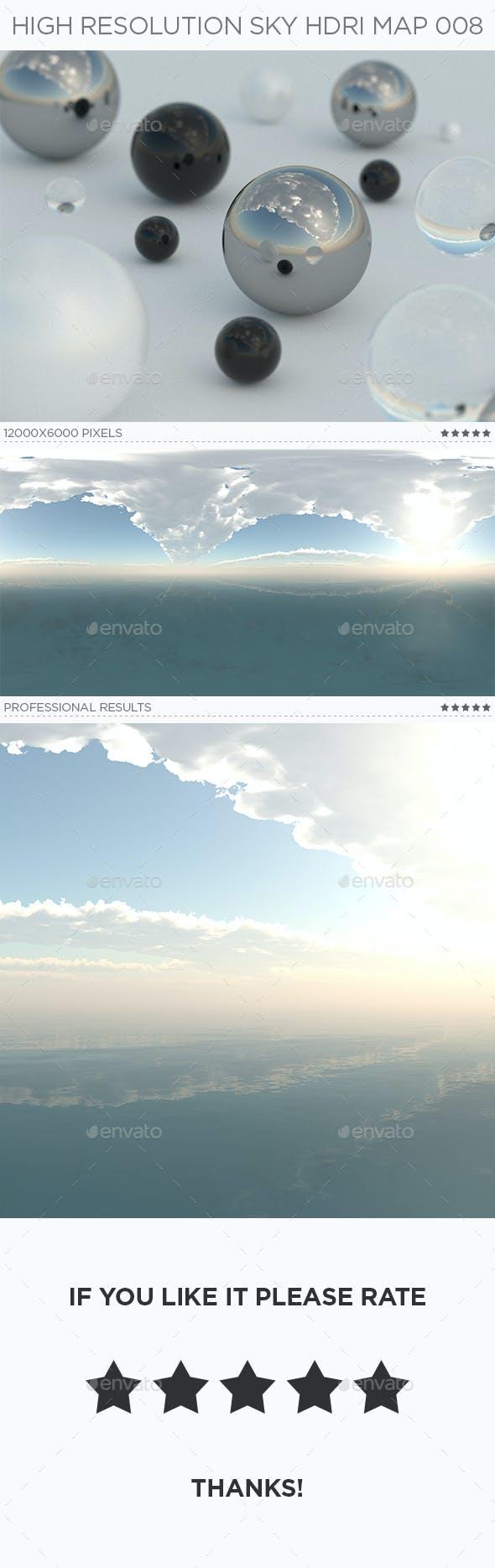 High Resolution sky HDRi Map 008 - 3DOcean Item for Sale