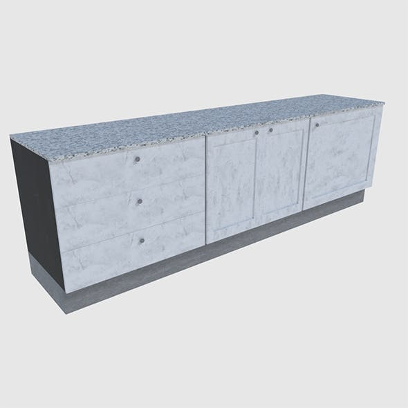 Cabinet 4 - Game Ready - 3DOcean Item for Sale