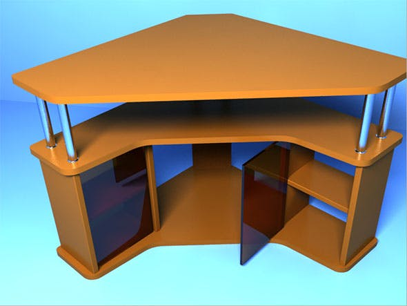 Table for TV - 3DOcean Item for Sale