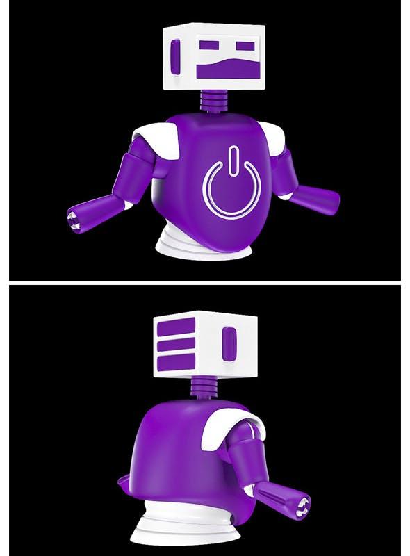Kids Robot Model - 3DOcean Item for Sale