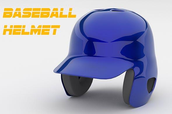 Classic Baseball Helmet - 3DOcean Item for Sale
