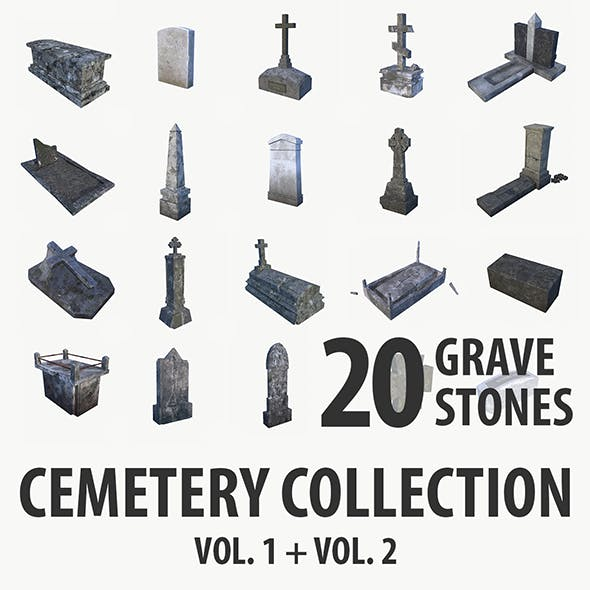 Gravestone collection vol. 1 + vol. 2