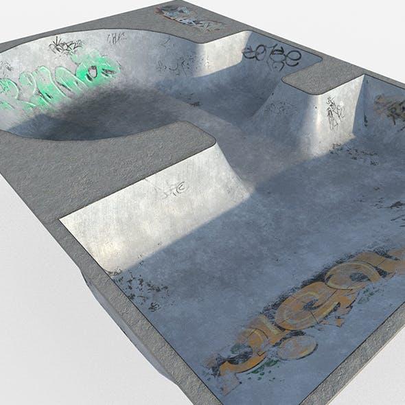 Skate park Pool