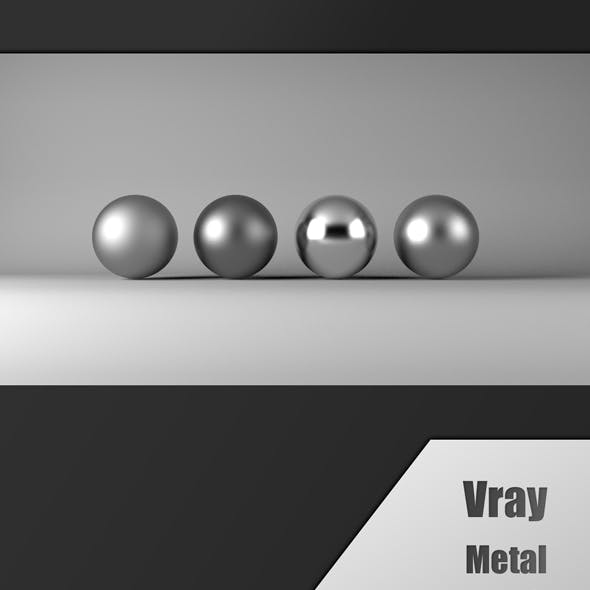 Vray metal
