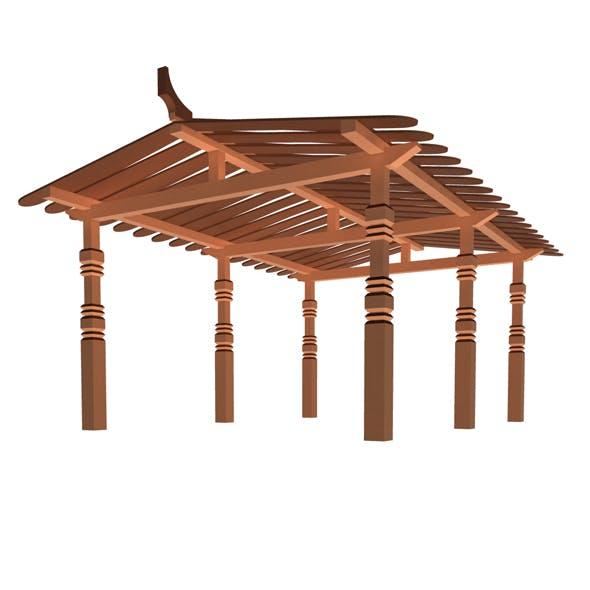 sunshade - 3DOcean Item for Sale