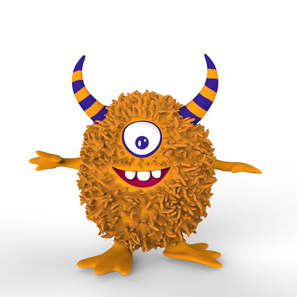 Maxter cartoon monster - 3DOcean Item for Sale