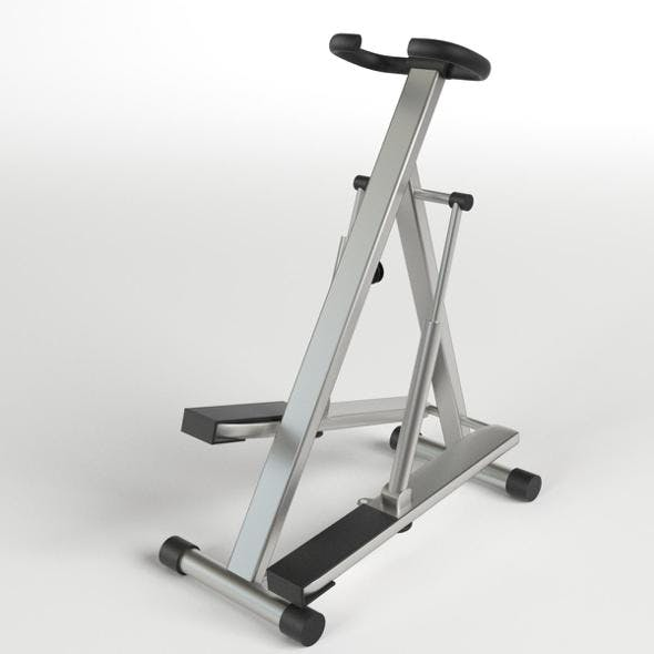 Gym Equipment - Stepper Glute Machine