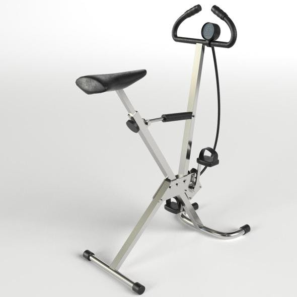 Gym Equipment - Cyclette Stationary Bicycle