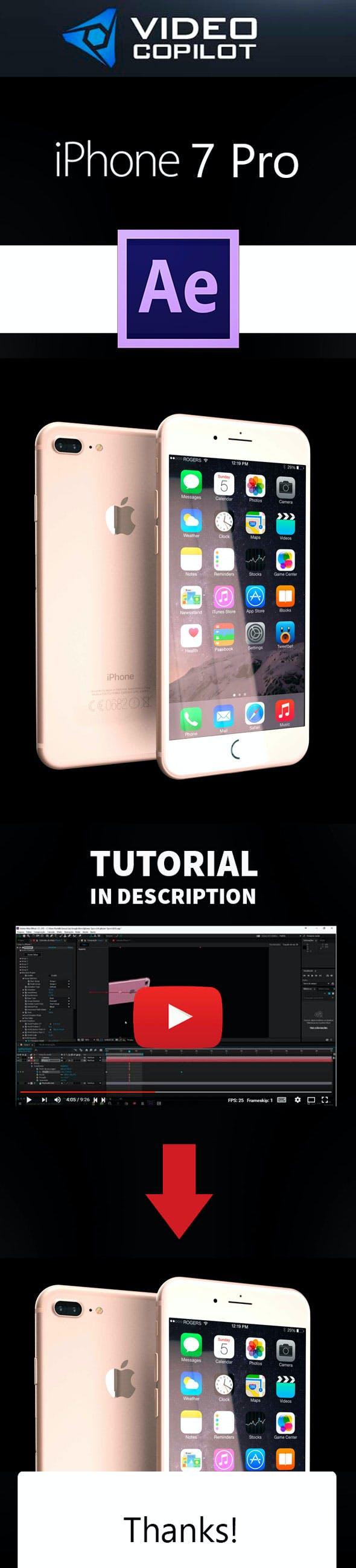 Element3D - iPhone 7 Pro - 3DOcean Item for Sale